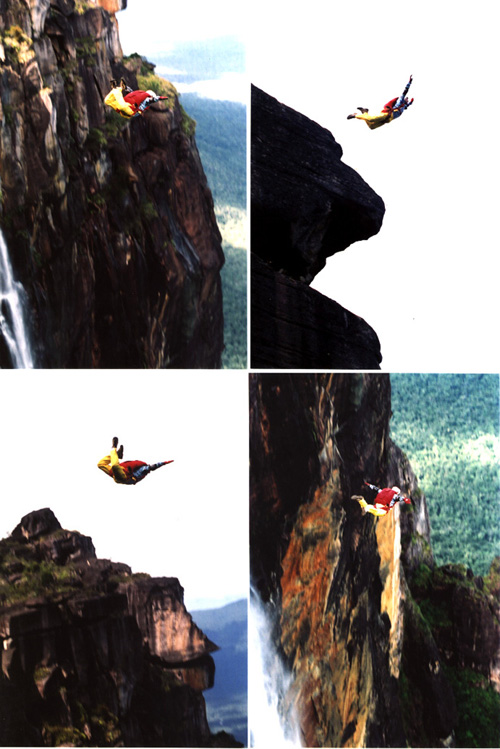 base jump, angel falls